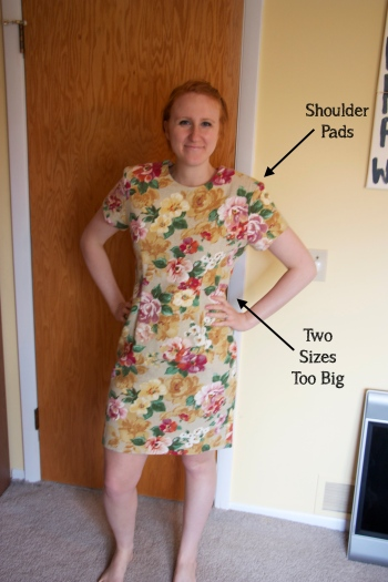 Floral Dress Before